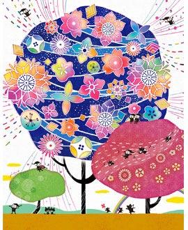 母や祖母の古希祝い、喜寿祝い、傘寿祝いプレゼント、藍色、紫、紺色のお祝いの品
