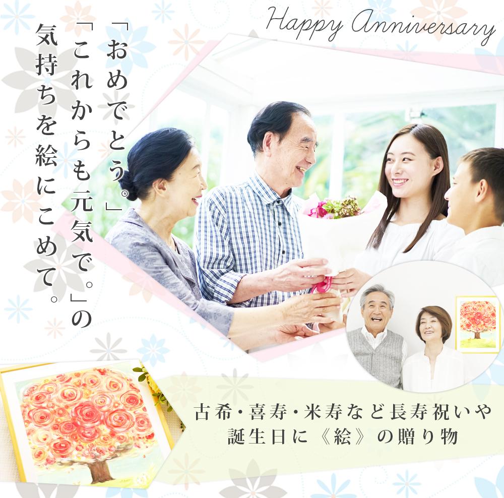 母の傘寿祝い、喜寿祝い、古希祝いのプレゼント
