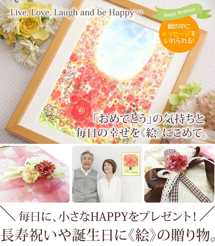 母・女性の傘寿・古希・米寿・喜寿祝いのプレゼント