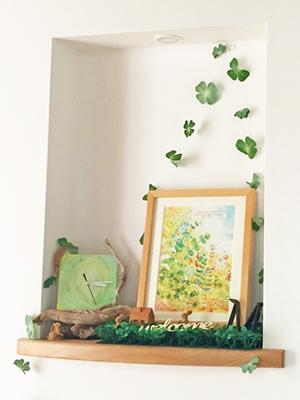 玄関に飾る絵のインテリアアート