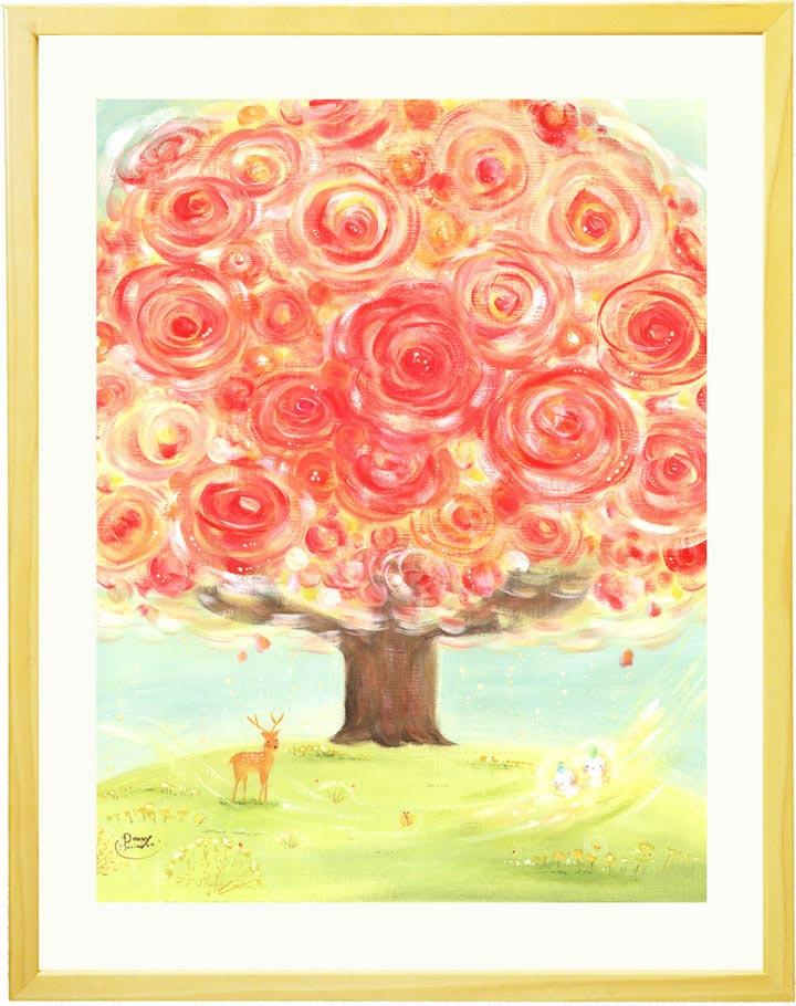 花の絵画インテリアアート、玄関に飾る風水の絵、おしゃれ、店舗に飾る絵、壁掛け絵画、ホスピタルアート、癒し