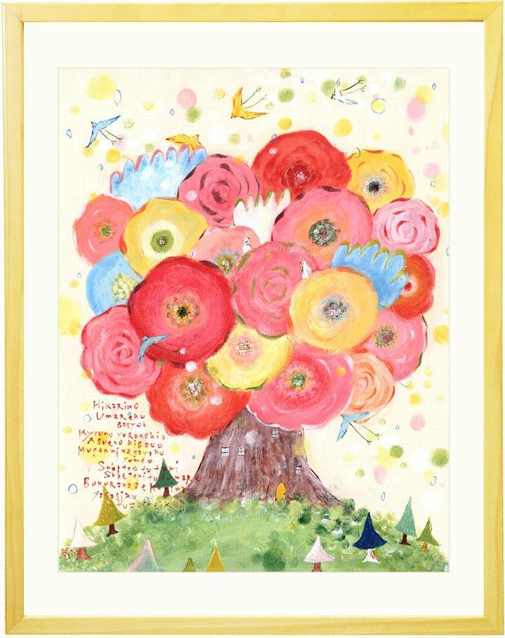 玄関に飾る絵画、風水の絵画、花の絵画、おしゃれな絵、北欧アートポスター